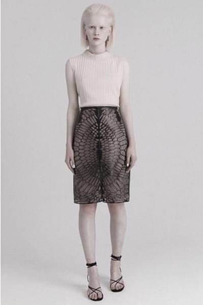 jupe imprimée en 3D