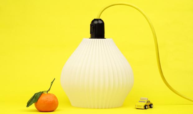 lampe imprimée en 3D