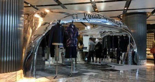 magasin Louis Vuitton 3D