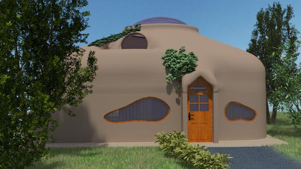 """La """"grue béton"""" pourrait imprimer en 3D une maison en 24 heures"""