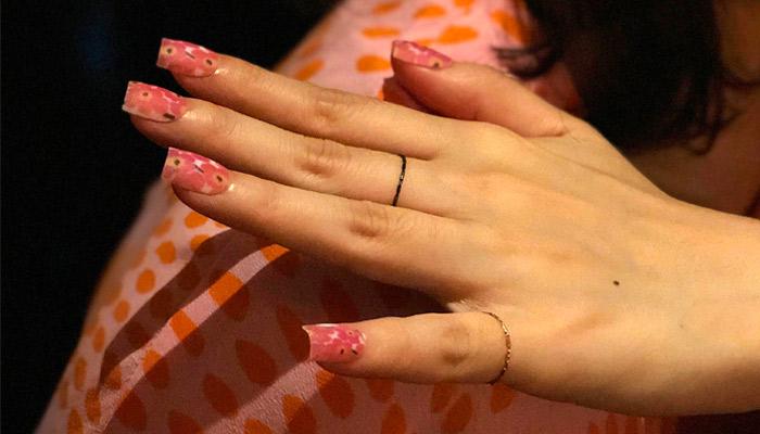 ongles imprimés en 3D