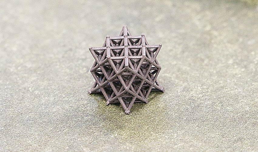 métamatériaux imprimés en 3D
