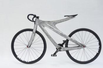 Arc Bike II, un vélo au cadre imprimé en 3D en aluminium par MX3D