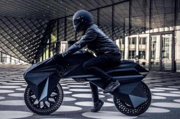 Nera, une moto électrique entièrement imprimée en 3D