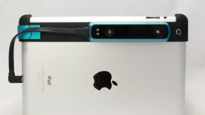 L'accessoire Structure Sensor à rajouter sur votre tablette