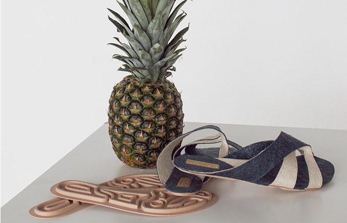 sandales imprimées en 3D
