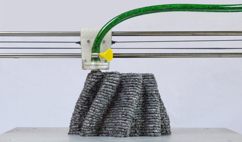 Paper Pulp Printer