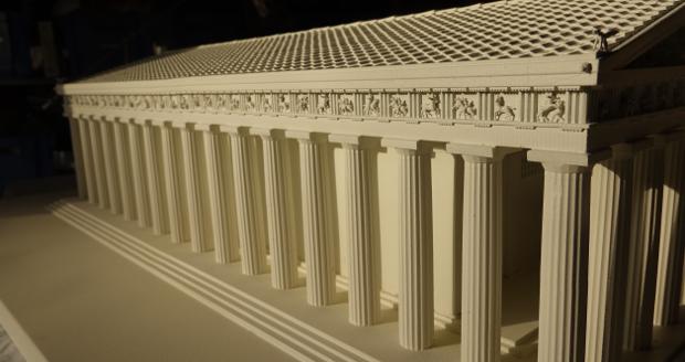 Parthénon imprimession 3D