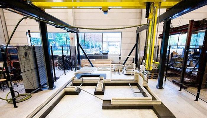 maisons imprimées en 3D