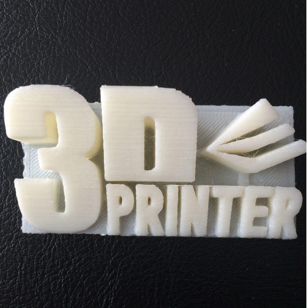 Pièce de démonstration XYZ Printing.