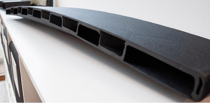 pont imprimé en 3D plastique