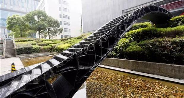 pont imprimé en 3D