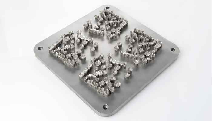 poudres métalliques
