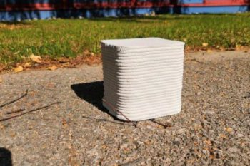 PrintStones, une technologie d'impression 3D béton mobile