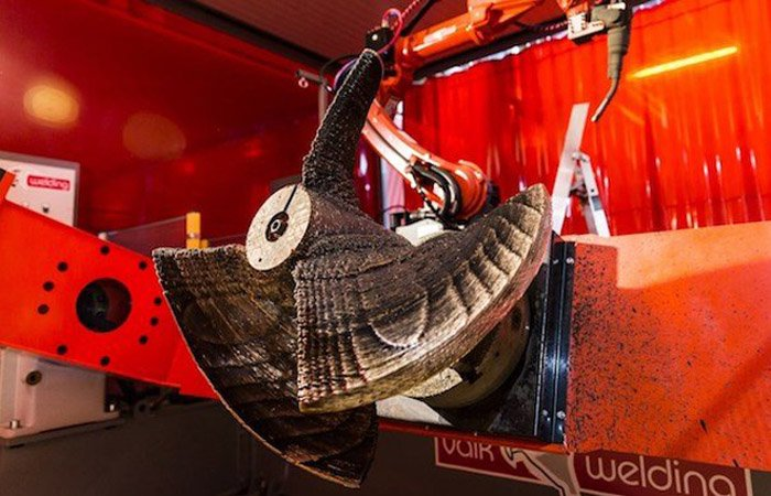 le ramlab poursuit la fabrication additive d 39 une h lice de bateau 3dnatives. Black Bedroom Furniture Sets. Home Design Ideas