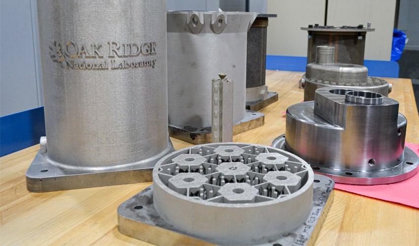réacteur nucléaire imprimé en 3D