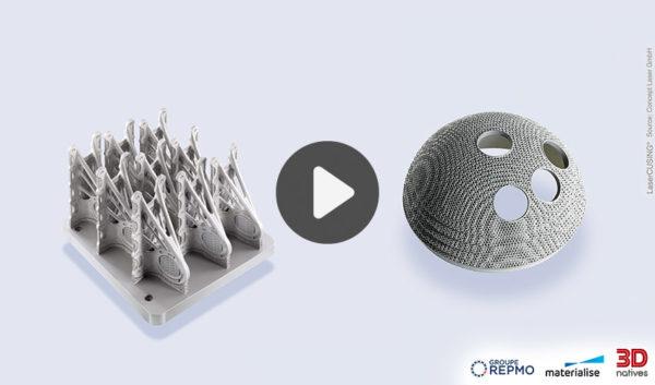 WEBINAIRE : Repenser la conception des pièces pour la fabrication additive métal