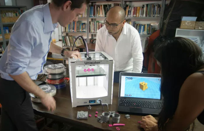 3D printing higher education