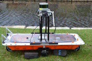 RoBoat, des bateaux autonomes imprimés en 3D à Amsterdam