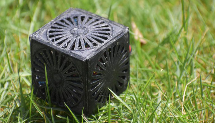 satellite imprimé en 3D