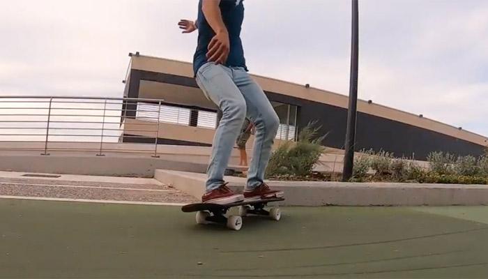 skateboard imprimé en 3D
