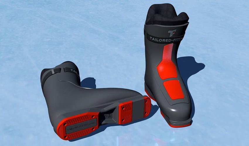 3d Des En Mesure 3dnatives Ski De Chaussures Imprimées Sur xwn0rwaZCq