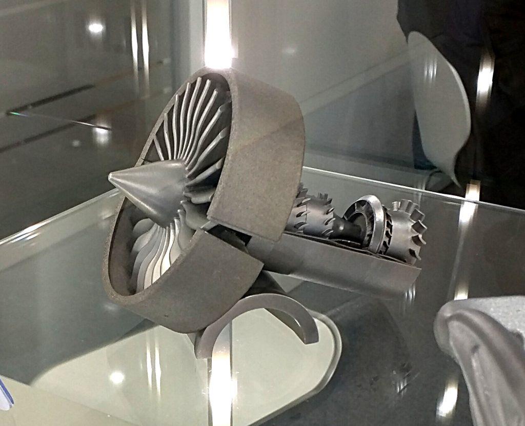 Une magnifique pièce imprimée en 3D par les équipes de SLM Solutions