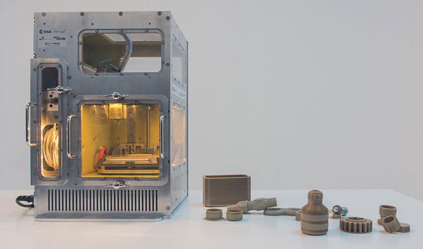 imprimante 3D espace