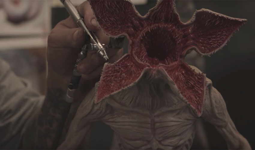 Comment l'impression 3D a donné vie au Demogorgon