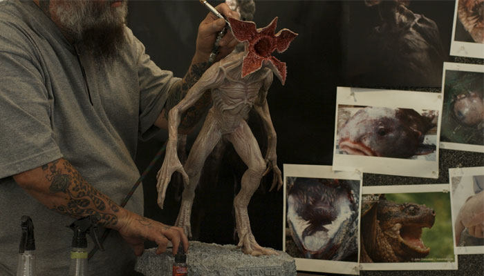 impression 3D du demogorgon