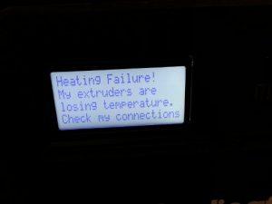 thermo error