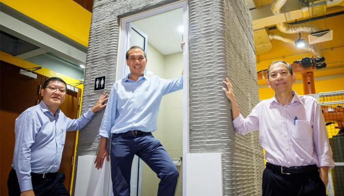 toilettes imprimée en 3D
