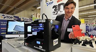 En France, la chaîne Top Office propose d'ores et déjà un service d'impression 3D
