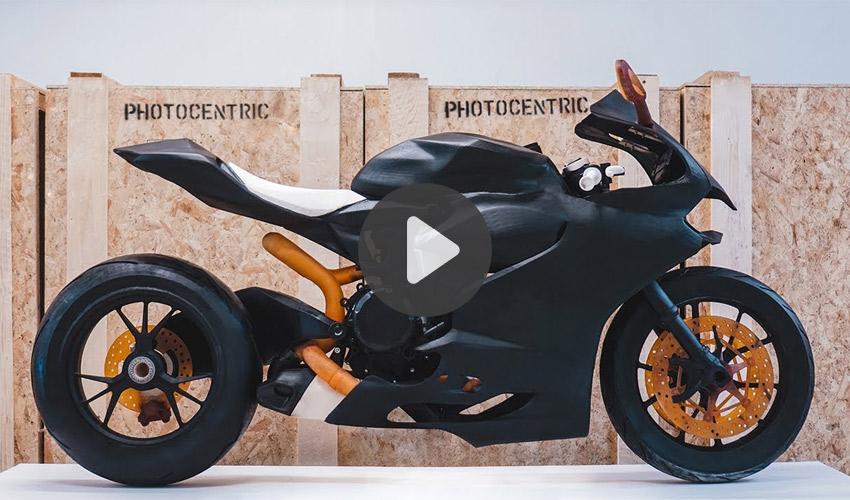 impression 3D et moto