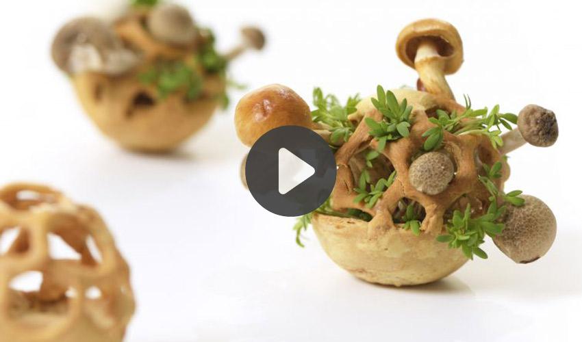 impression 3D aliment