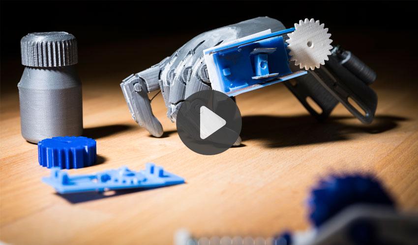 objets imprimés en 3D