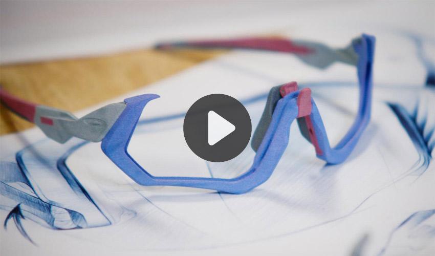 impression 3D et lunettes de sport