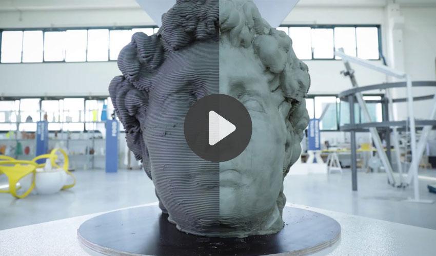 imprimante 3D d'argile