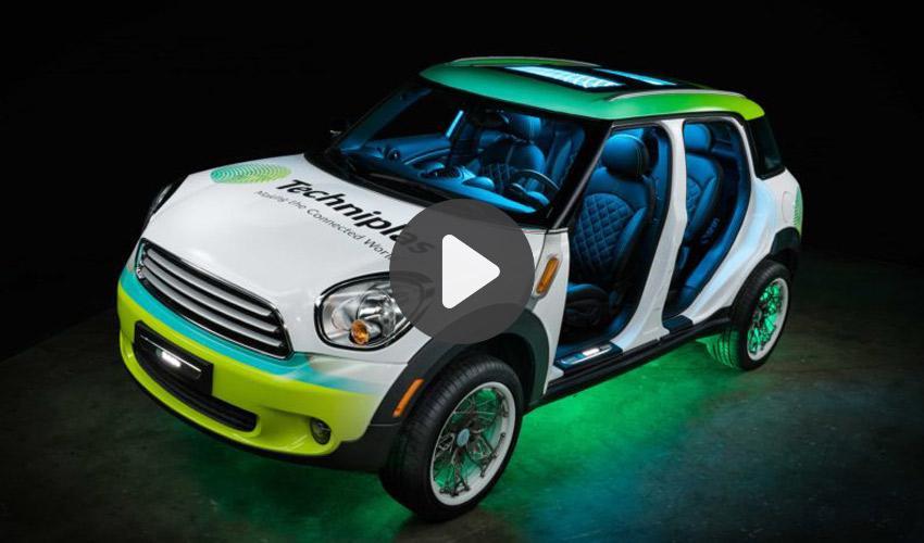 Mini Cooper imprimée en 3D