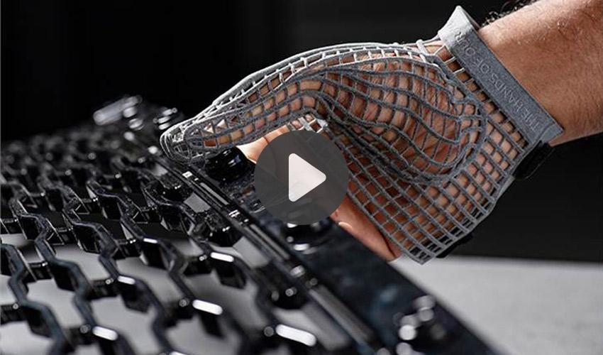 gant imprimé en 3D