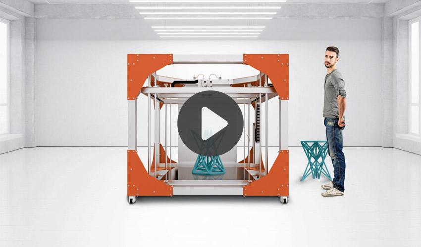concevoir pour l'impression 3D grand format