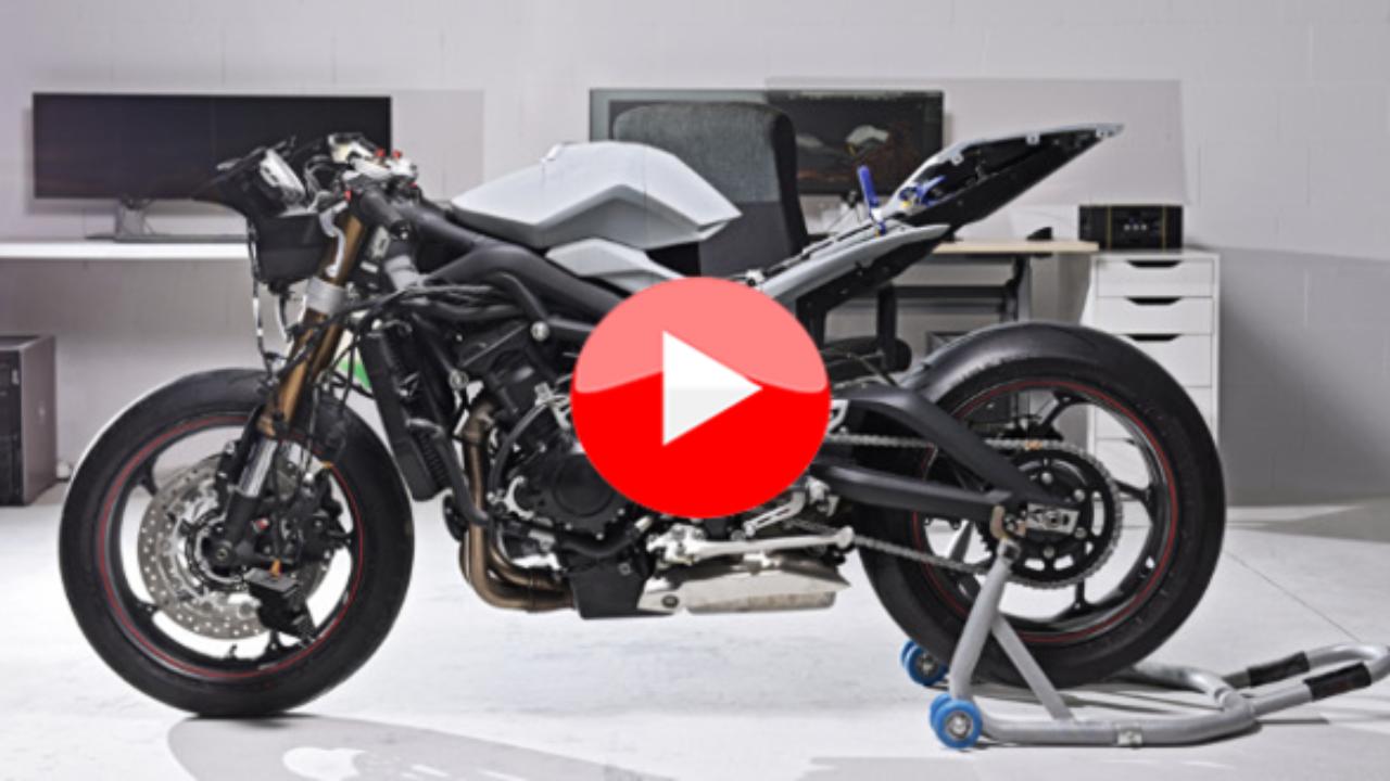 Zortrax Et Sa Moto Imprimée En 3d Le Vélo De Sculpteo