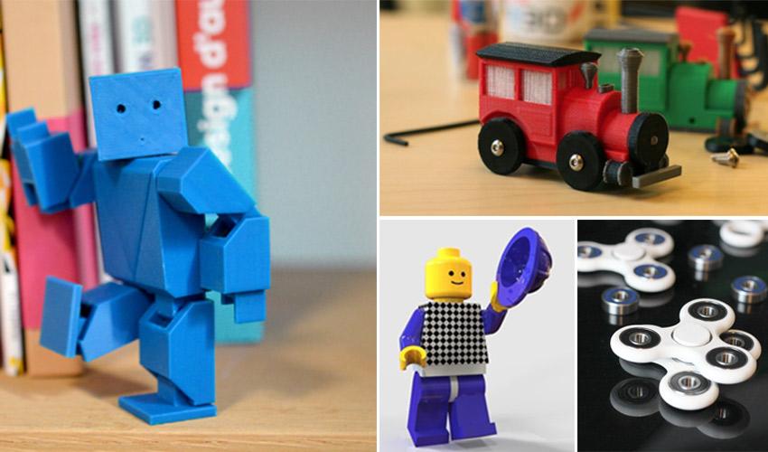 Jouets À Imprimante 3d Des 10 Top Noël Réaliser Avec Pour Une 2D9HYWEI