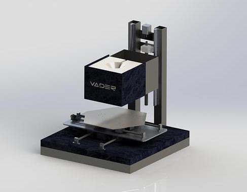 La Vader Systems, un projet d'imprimante 3D métal domestique