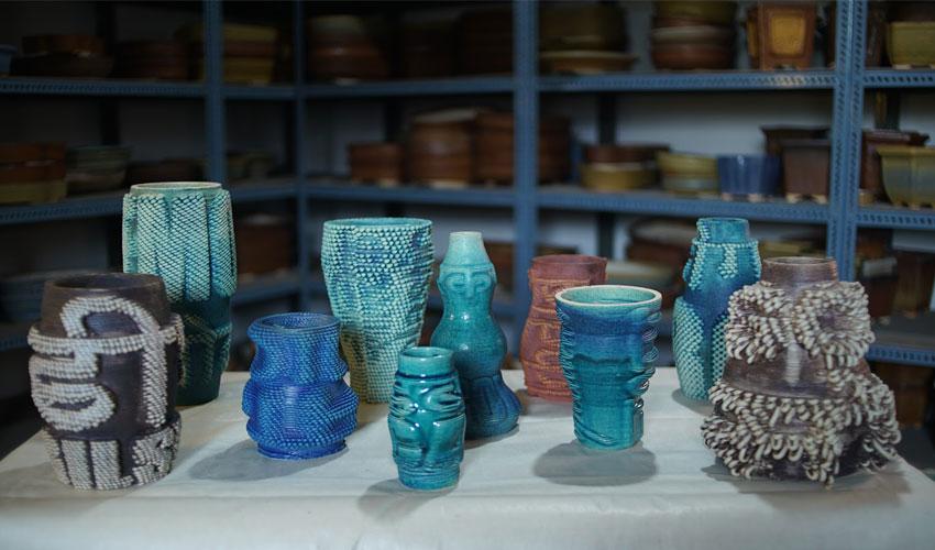 vases imprimés en 3D