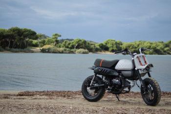 Jane, la première moto qui intègre un réservoir en aluminium imprimé en 3D