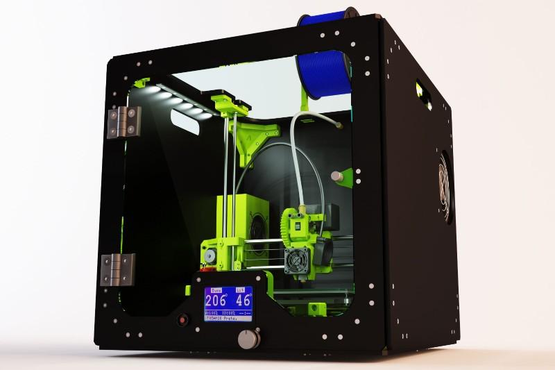 L'imprimante 3D Stream 20 de chez Volumic