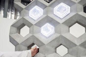 NOWlab imprime en 3D un mur intelligent en béton