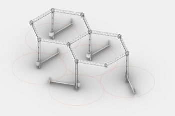Crane WASP, une imprimante 3D modulable pour le secteur de la construction