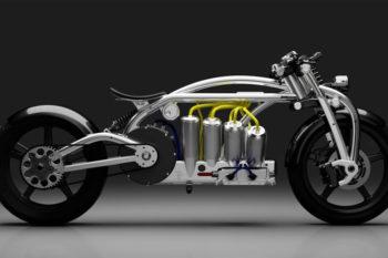 La moto électrique Zeus 8 de Curtiss combine impression 3D et usinage